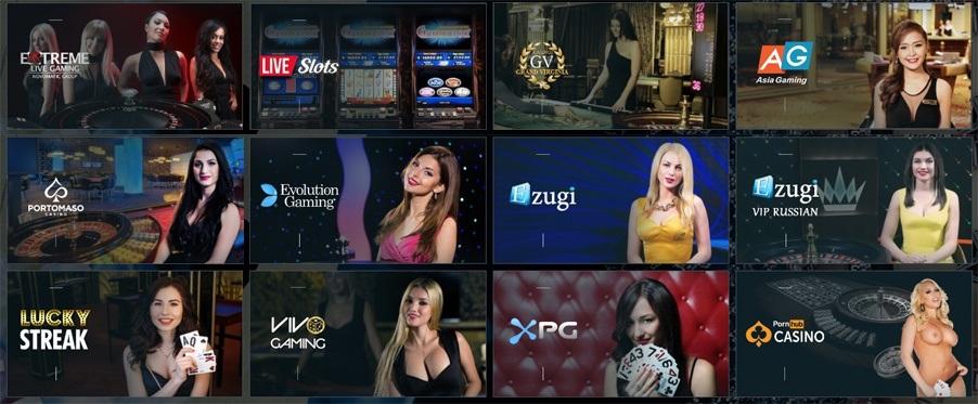 live casino 1xbet